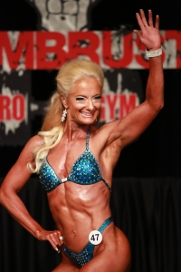The 2014 WARRIOR! My first bodybuilding show at age 50.